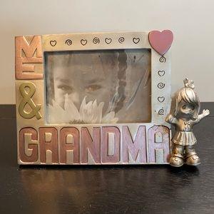 🔴 Me & Grandma Picture Frame EUC